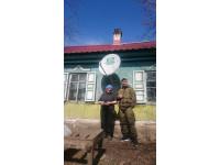 Установка НТВ+ с. Духовское ул. Совхозная, д.13 - Бесплатно - Акция к 1 мая 2018г