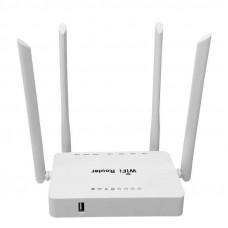 Маршрутизатор ZBT-WE3326, 3G/4G, 4 Wi-Fi антенны, 4-lan, 1-wan, 1-usb