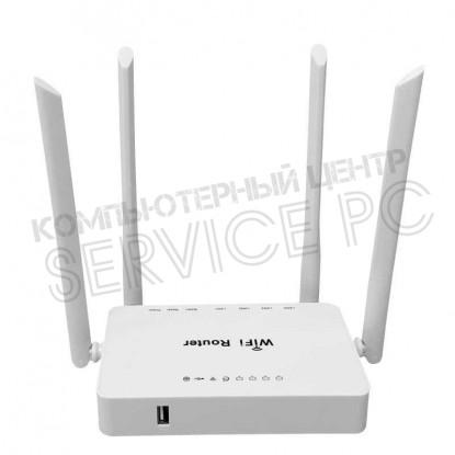 Маршрутизатор ZBT-WE3326, 3G/4G, Wi-Fi, 4-lan, 1-wan, 1-usb