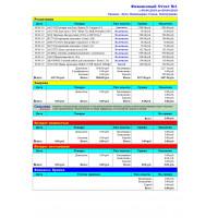 Финансовый отчет № 1 - Расширенный отчет для Тирика-Магазин