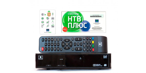 Настройка тюнера NTV-PLUS 1HD VA PVR