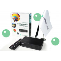 Цифровая интерактивная ТВ-приставка VA1020