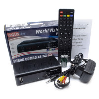 ТВ Приставка World Vision FOROS Combo DVB-T2/S2