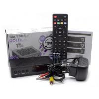 ТВ Приставка World Vision T64D DVB-T2