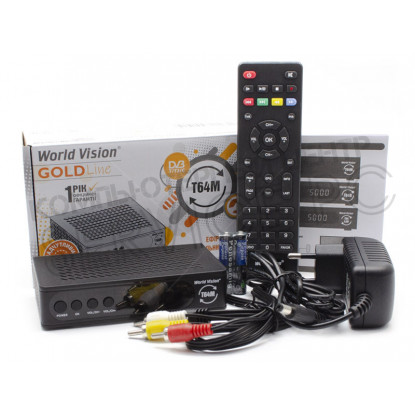 ТВ Приставка World Vision T64M DVB-T2