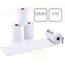 Чековая лента (термобумага) 80мм x 50мм х 21метр