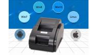 Тест печати принтера Xprinter XP-58IIH с программы Тирика-Магазин v 7.4
