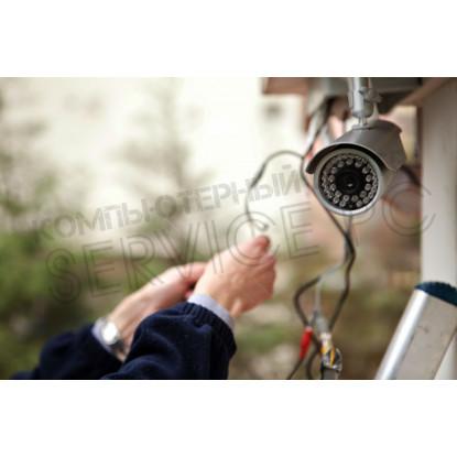 Установка видеокамеры для систем видеонаблюдения