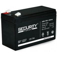 Аккумулятор Security Force SF-1207 12v 7.2 Ah