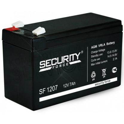 Аккумулятор Security Force SF-1207 12v 7.2 Ah