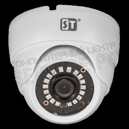 Видеокамера ST-2004, AHD/TVI/CVI/Analog, 2MP, ИК, 2,8mm (121,3 гр.)